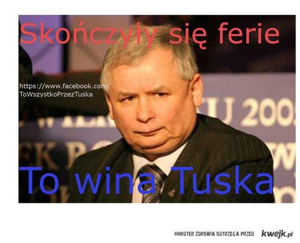 To wszystko przez Tuska