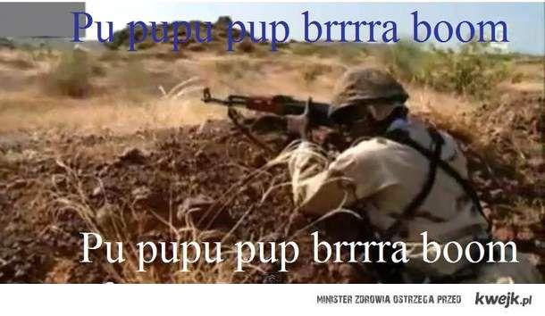 Strzelanie w Afryce