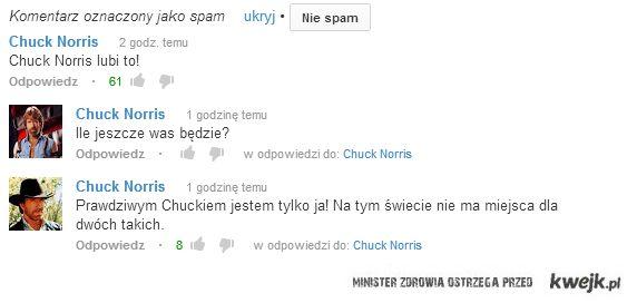 Chuck Norris na YT
