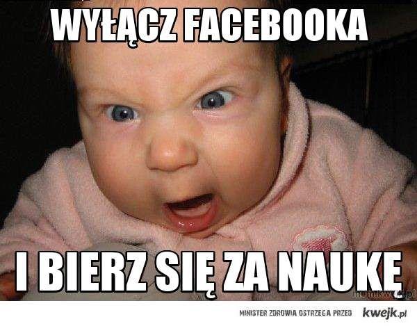 Wyłącz facebooka