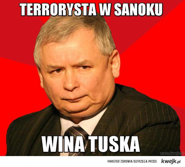 terrorysta w sanoku