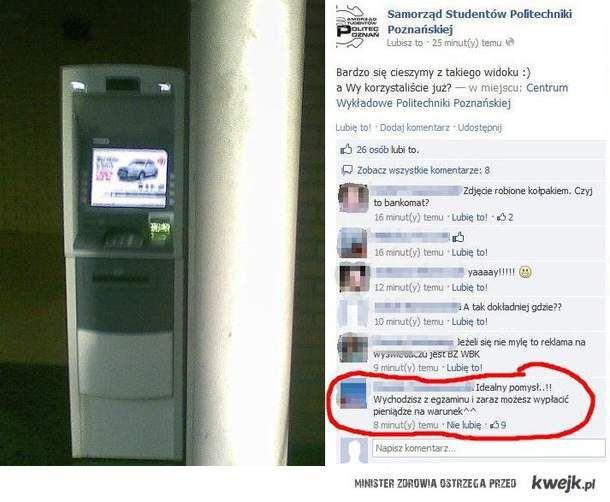 bankomat na polibudzie