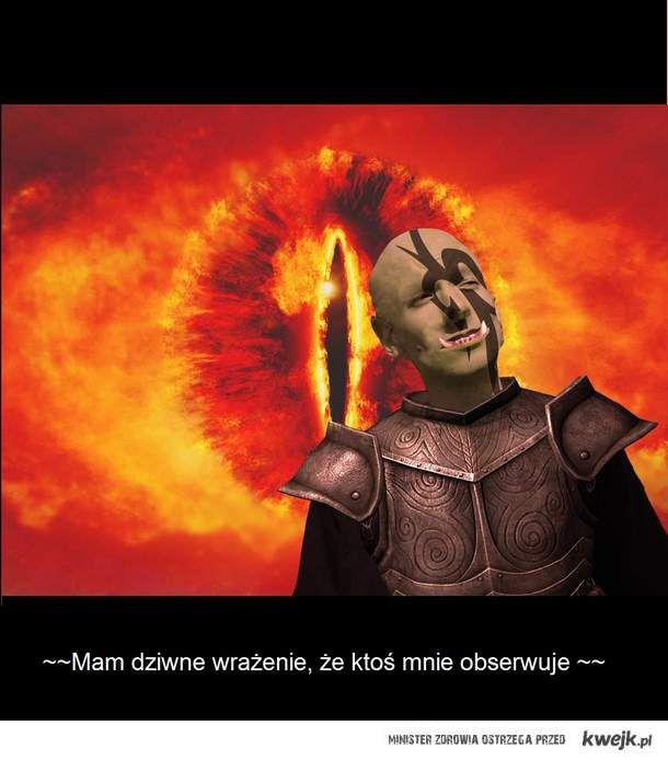 """""""Wieże mają oczy - Sauron sam w domu"""""""
