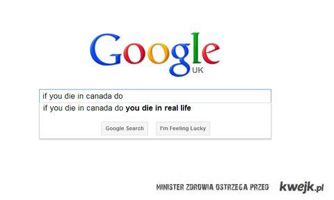 jeśli umierasz w kanadzie