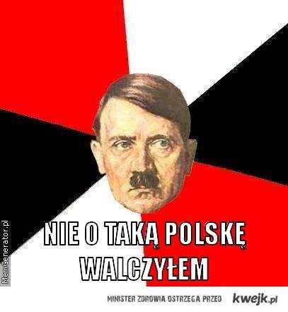Nie o taką Polskę walczył