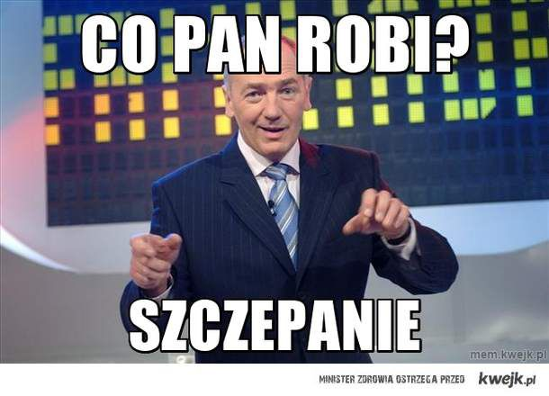 Co pan robi?