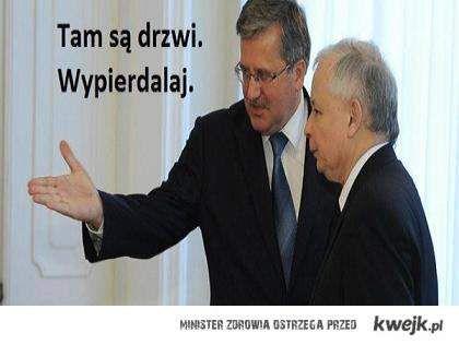 Komorowski i Kaczyński