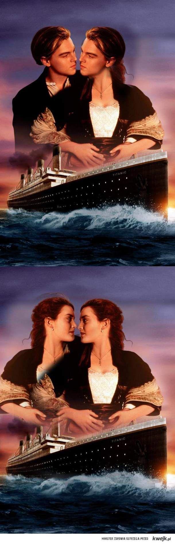 TITANIC- wersja alternatywna.