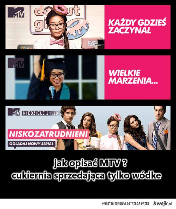 jak opisać MTV?