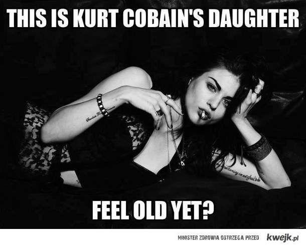 Córka Cobaina