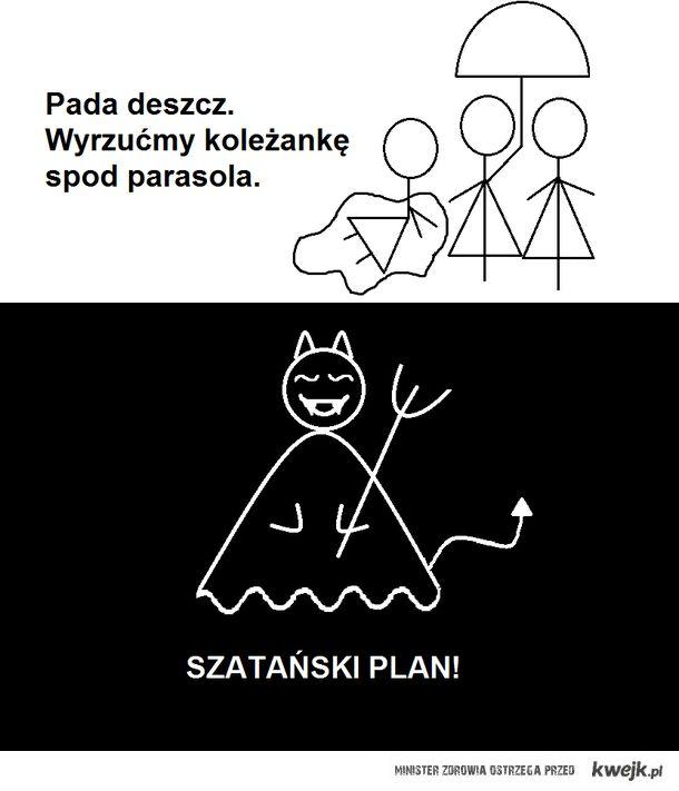 szatański plan