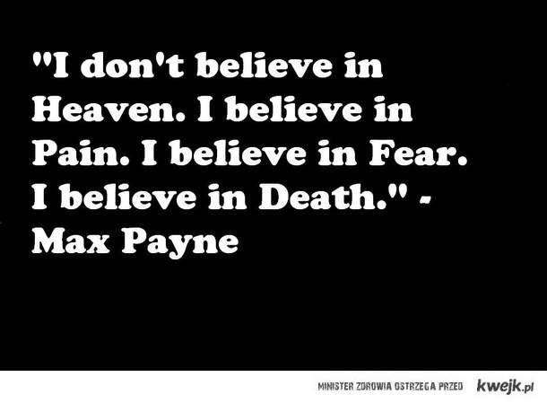 max payne ideology