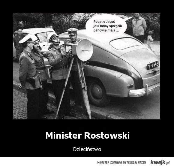 minister rostowski