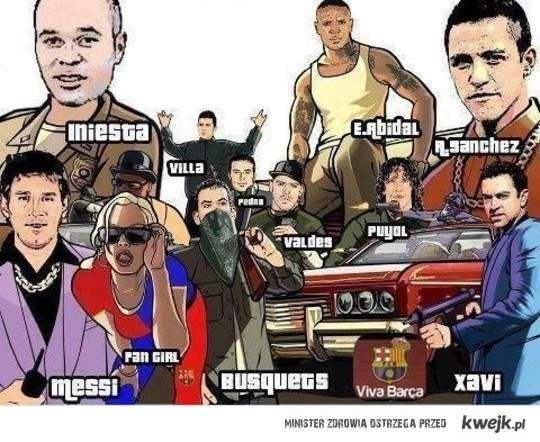 GTA Barca