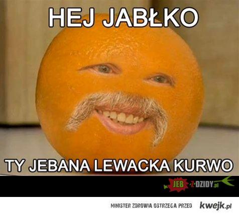 Irytujący pomarańcz