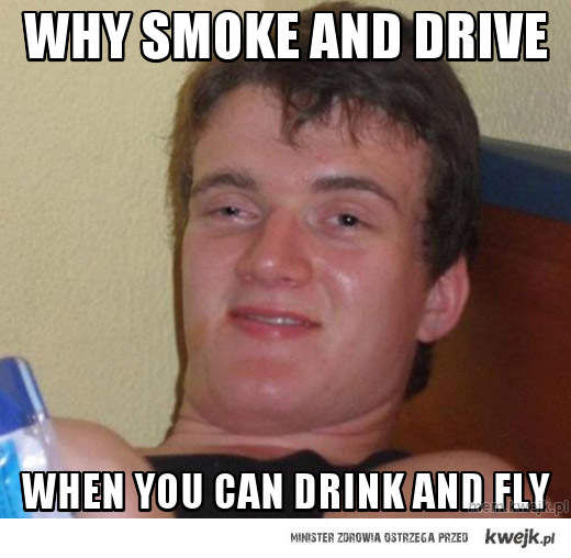 why smoke and drive