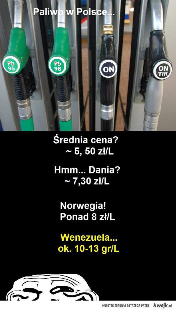Paliwo w Polsce.