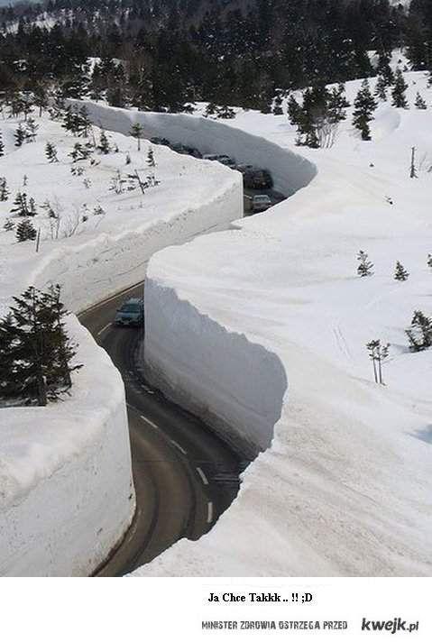 oby napadało tyle śniegu