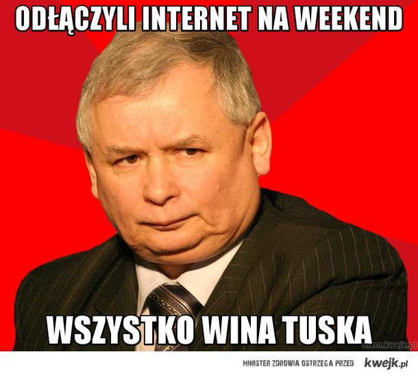 Odłączyli Internet na Weekend