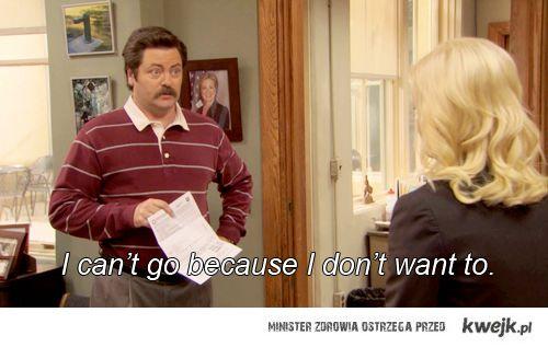 nie chcę