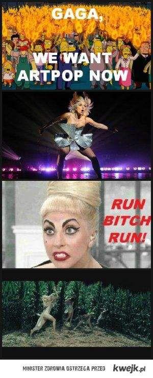 Run bitch, run!