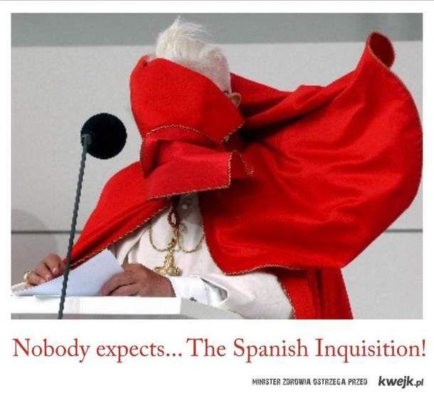 Nikt nie spodziewa się hiszpańskiej inkwizycji