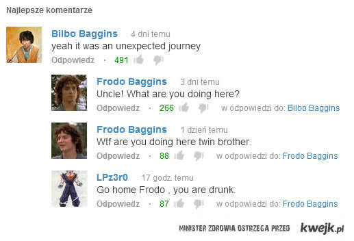 Troll conversation
