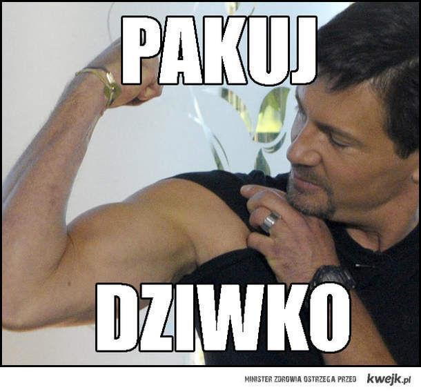 Krzysztof Ibisz - pierwszy paker RP