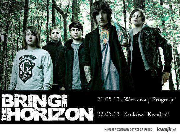 Bring Me The Horizon w Polsce!