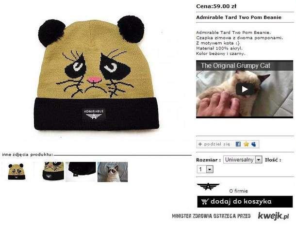czapka Grumpy Cat