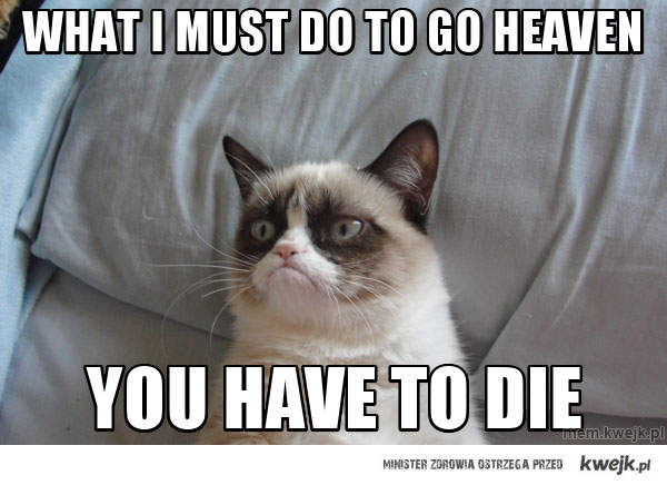 what i must do to go heaven