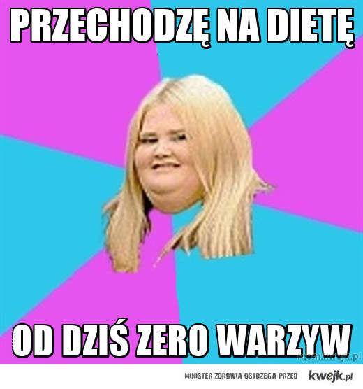przechodzę na dietę