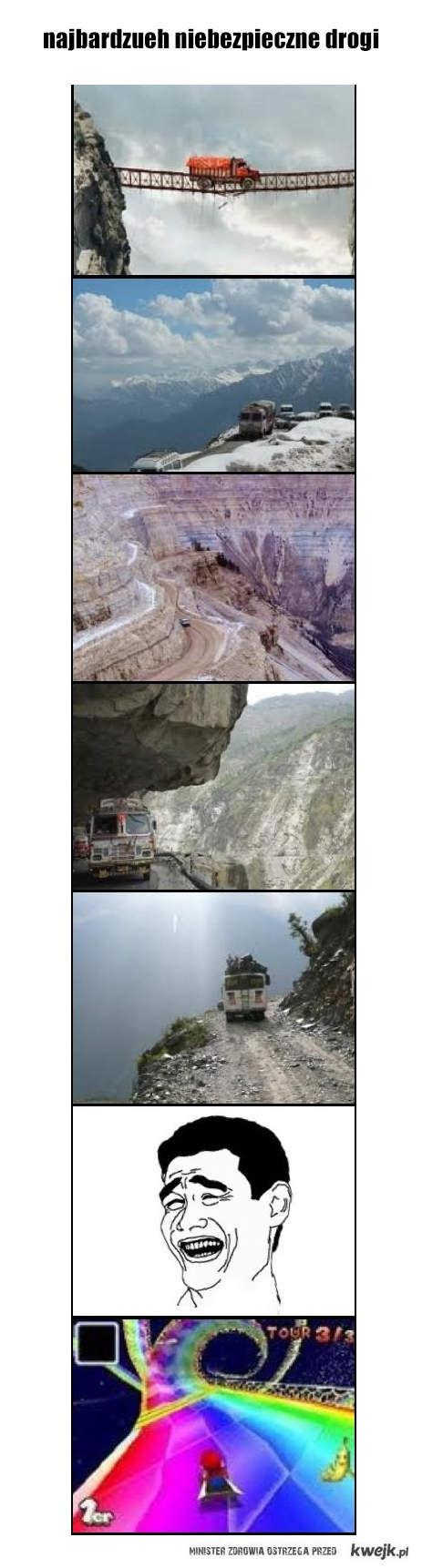 najbardziej niebezpieczne drogi