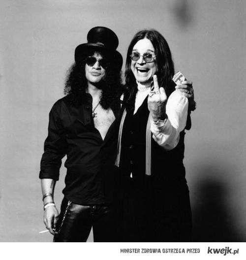 Slash i Ozzy