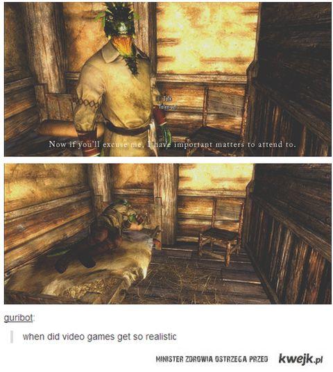 gry stają się realistyczne