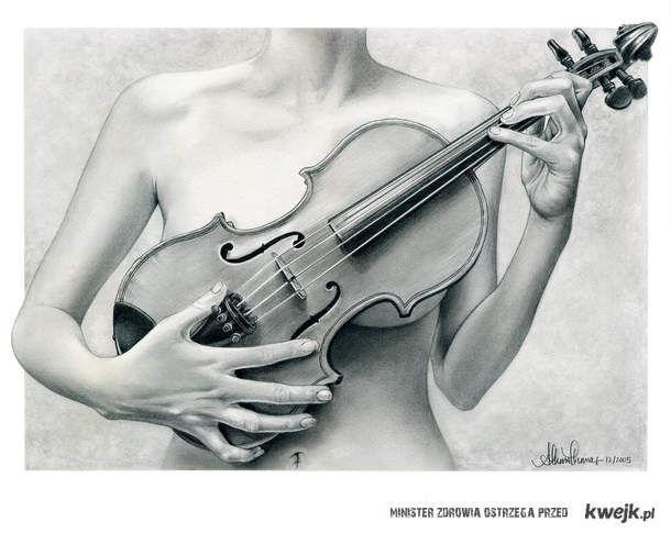 skrzypce cycki :D