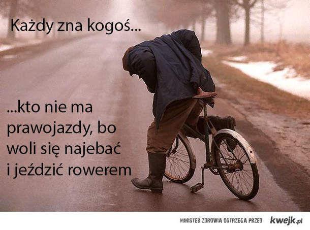 Pijani rowerzyści