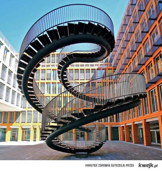 nieskończone schody