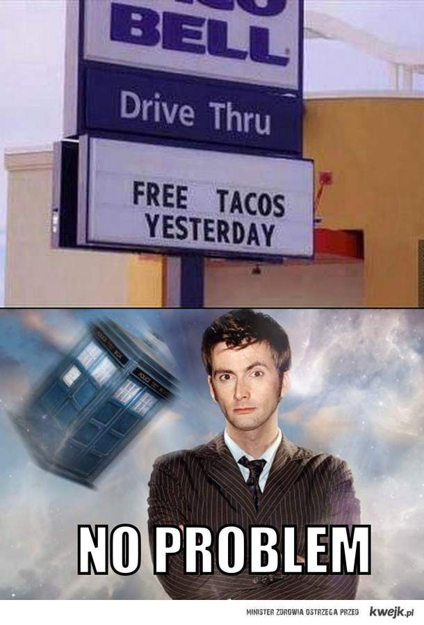 no problem for time lords