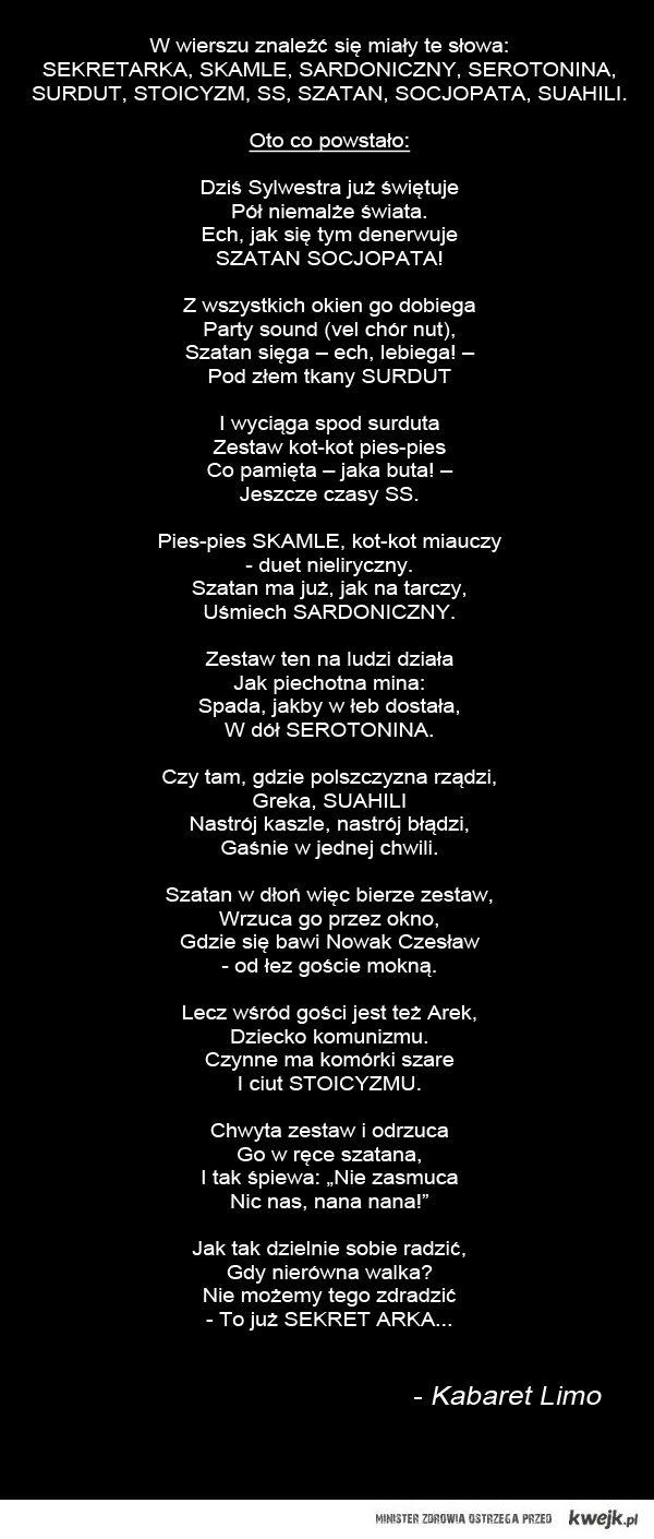 Wierszyk Metafizyczny