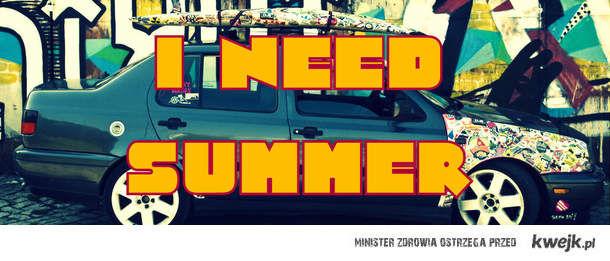 I need summer !
