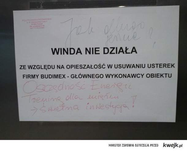 Winda - Politechnika Poznańska