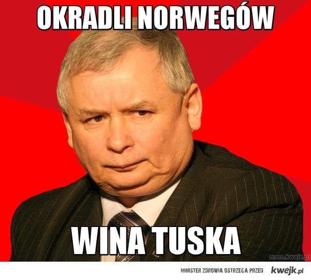 Okradli norwegów