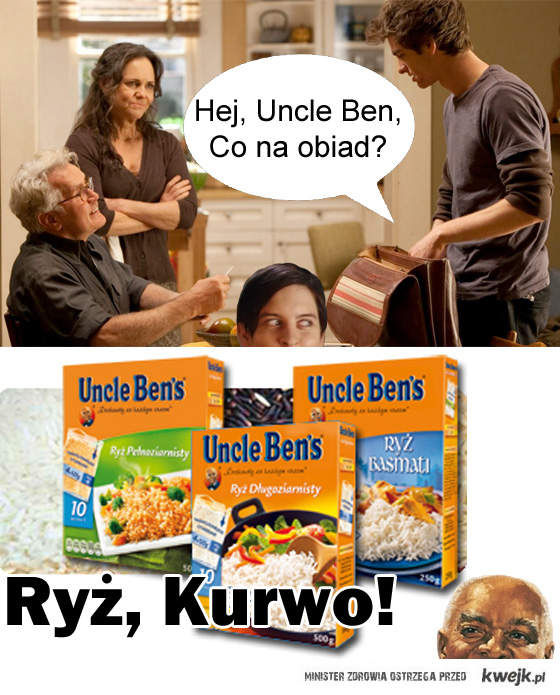 Uncle Ben's kur*o