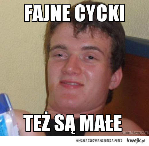 FAJNE CYCKI