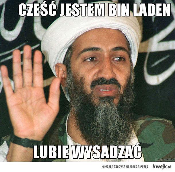 Cześć jestem bin laden