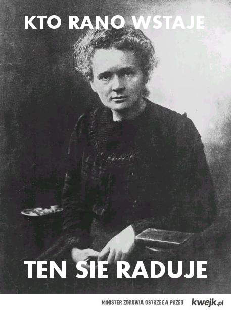 Maria Napromieniowana Curie