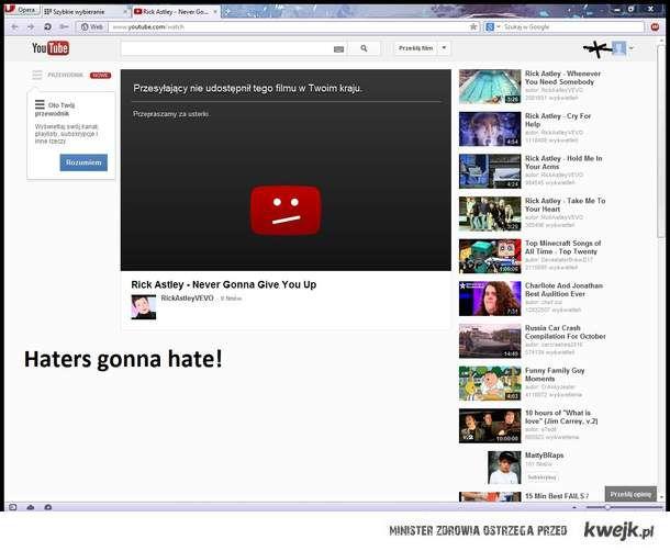 Youtube trolling me!