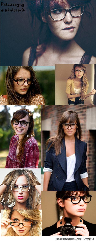 Dziewczyny w okularach