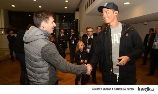 """Messi i Ronaldo pozdrawiają """"hejterów"""" :)"""